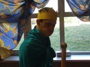 Azzurro nel castello